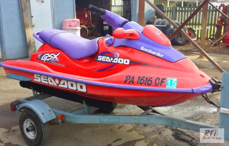 1998 SEA DOO Bombardier GSX Limited 2 Seater