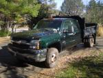 2004 Chevy 3500 Dump Truck Duramax with autom...