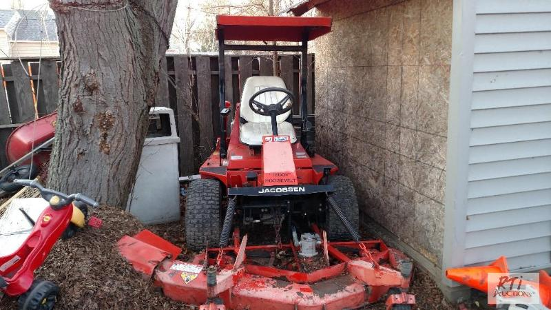 Jacobson T422D Front Mount Diesel Mower  3-cy    | March NetAuction