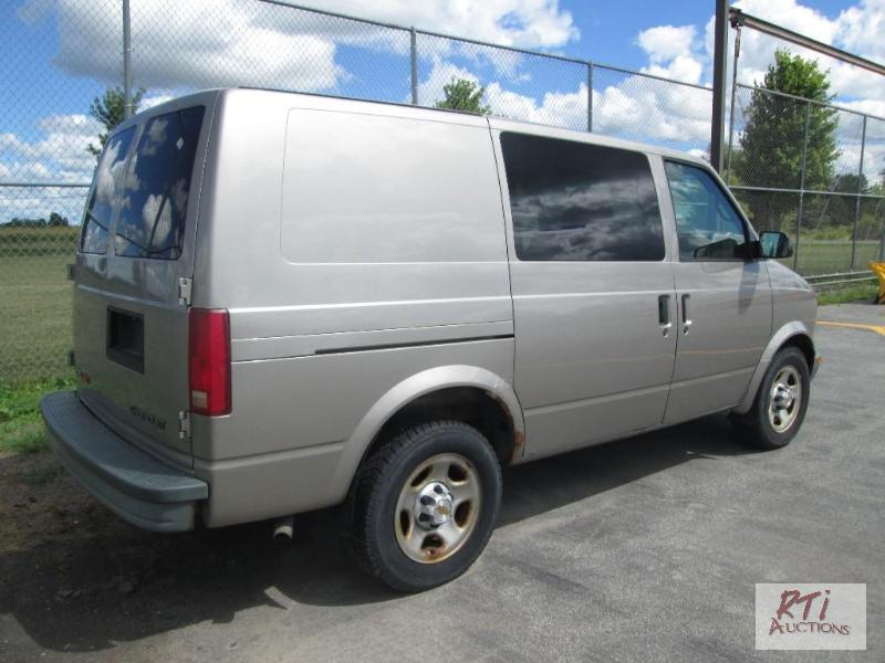 2003 chevrolet astro van awd vin 1gcdl19x23 september netauction rti netauctions. Black Bedroom Furniture Sets. Home Design Ideas